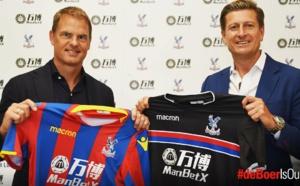 OFFICIEL : Frank De Boer est le nouvel entraineur de Crystal Palace.