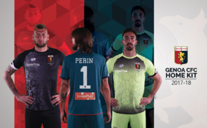 Nouveaux maillots Genoa CFC 2017-18