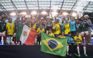 Le Mexique (garçons) et le Brésil (filles) remportent la Danone Nations Cup 2017 ! La France 11e et 4e