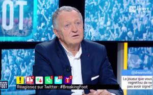 Mercato OL : le grand regret de Jean-Michel Aulas
