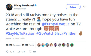 Dortmund : Michy Batshuayi victime de cris racistes à Bergame