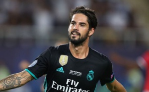 Real Madrid : Le magistral coup franc d'Isco face à l'AS Roma ! (vidéo)
