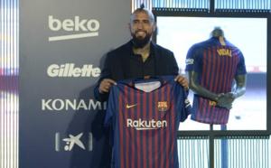 Arturo Vidal s'est fait remonter les bretelles par un dirigeant du Barça