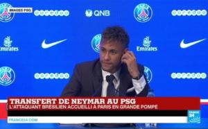 Neymar - Capture écran France24