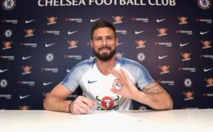 Chelsea : Olivier Giroud prolonge d'une saison