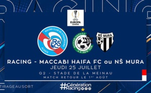 C3 : Maccabi Haïfa ou NS Mura pour Strasbourg