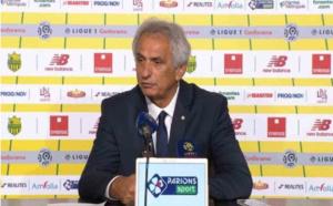 FC Nantes - Halilhodzic : Kita reste campé sur ses positions
