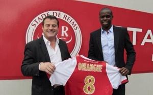 Prince Oniangué s'engage au Stade de Reims (officiel)