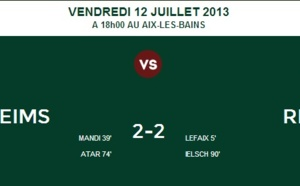 Amical : Match nul entre Reims et le Red Star