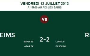 Amical : Match nul entre Reims et le Red Star