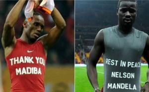 Galatasaray : Drogba et Eboué sanctionnés pour avoir rendu hommage à Mandela ? (photo)
