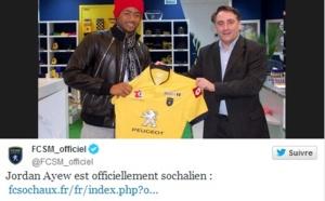 Jordan Ayew s'est engagé au FC Sochaux (officiel)