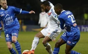 Coupe de la Ligue : OL - Troyes : 2-1