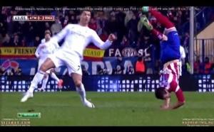 Real Madrid / Atlético Madrid : Un contact anodin qui aurait pu être dramatique (Vidéo)
