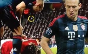 Bayern Munich : Robben dément avoir craché sur Sagna
