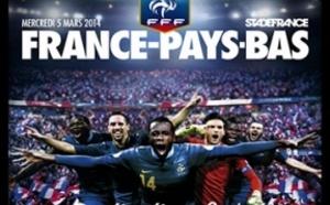 Les 23 Néerlandais face à la France