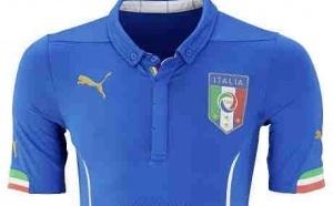Photo : Le Maillot de l'Italie pour la coupe du monde Brésilienne