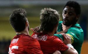 VIDÉO : la bagarre entre Song et Coentrao lors de Portugal / Cameroun