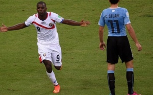 CM2014 - l'Uruguay sombre face au Costa Rica