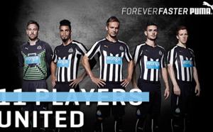 Le nouveau maillot domicile de Newcastle dévoilé !