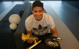 Remise du Golden Boot à James Rodriguez !