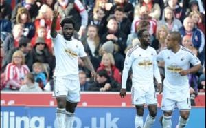 Swansea s'incline sur la pelouse de Stoke City