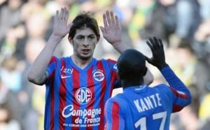 Caen surprend Nantes en fin de rencontre