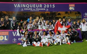 Lyon remporte la finale de la Coupe de France contre Montpellier
