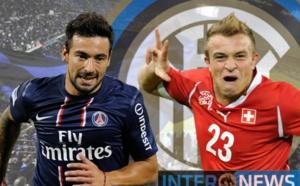 Mercato : Le PSG a refusé un échange Lavezzi, Shaqiri