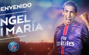 Officiel :  Angel Di Maria s'engage jusqu'en 2019 au PSG