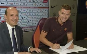 Officiel : Edin Dzeko prêté à l'AS Roma