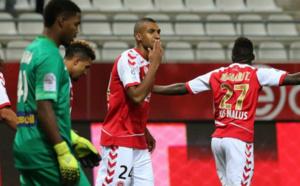 Reims sur le podium après sa victoire contre Lille