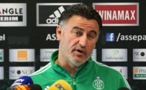 """ASSE- Galtier :  """" Reims est une équipe avec peu de points faibles """""""