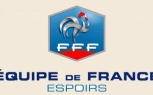 Equipe de France Espoirs : La liste pour les matchs face à l'Ecosse et la Macédoine