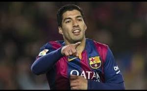 Barça : coup dur pour Luis Suarez !