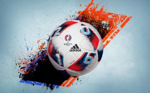 """adidas dévoile """"Fracas"""", le ballon de match officiel des phases éliminatoires de l'UEFA EURO 2016TM"""
