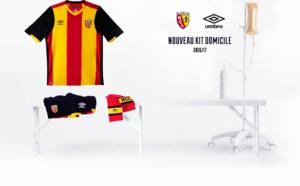 Umbro présente le nouveau maillot RC Lens Home 2016/2017