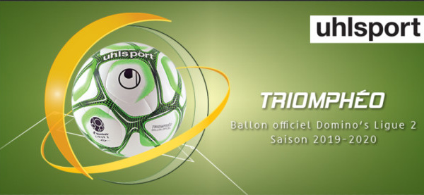 Uhlsport présente Triomphéo, ballon officiel de la Domino's Ligue 2