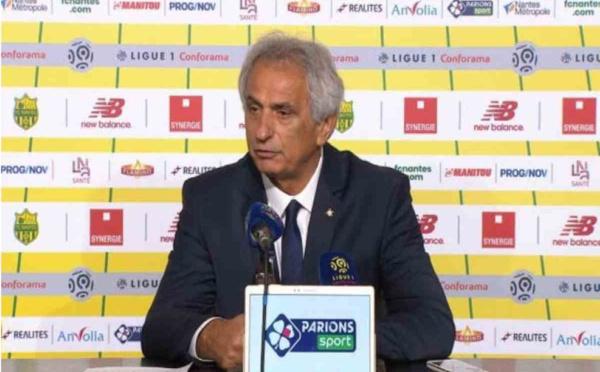 FC Nantes : l'étonnante déclaration du clan Kita au sujet du départ de Vahid Halilhodzic