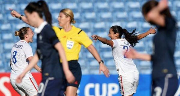 Algarve Cup: Les Bleues s'inclinent en finale contre les États-Unis