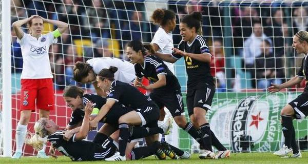 Francfort remporte l'UEFA Women's Champions League contre le Paris SG