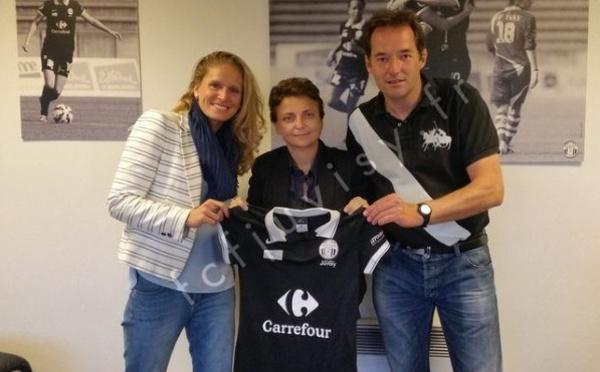 D1 - Emmanuel Beauchet et le nouvel entraîneur de Juvisy
