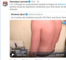 Un Tweet du CM de Winamax qui a mis en colère l'Olympique Lyonnais