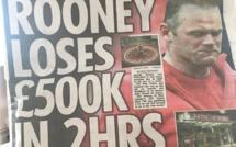 Manchester United : Wayne Rooney a perdu 600.000€ au casino !