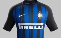 Le maillot domicile de l'Inter Milan saison 2017-2018