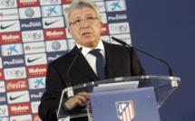 Le président de l'Atlético Madrid tempère pour Lacazette
