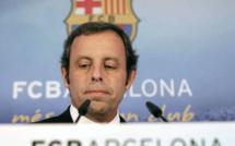 L'ancien président du Barça derrière les barreaux