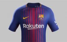 Maillot domicile du Barça, saison 2017-2018
