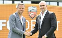 Mickaël Landreau nommé entraîneur du FC Lorient