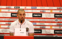 Mercato : Wesley Sneijder explique pourquoi il a rejoint l'OGC Nice